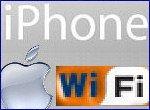 L'iPhone est Wi-Fi et navigue sur Internet